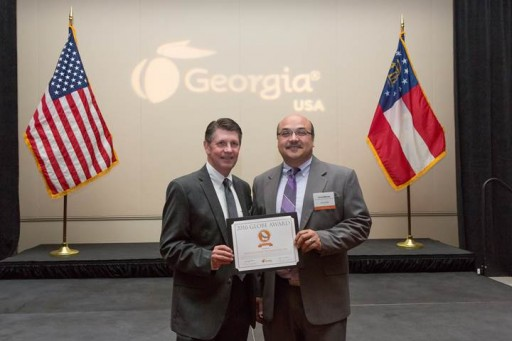 ServiceCentral Receives 2016 Georgia Launching Opportunities by Exporting (GLOBE) Award